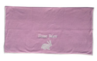 pink cashmere baby blanket