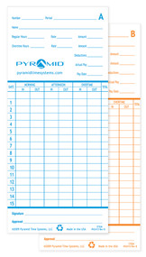 Pyramid 2600 Time Cards