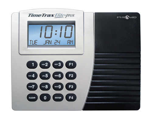 Pyramid TimeTrax Proximity Time Clock with Ethernet Kit