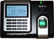 Compumatic XLS bio Biometric Fingerprint Recorder 25 EMPLOYEE TIME CLOCK PACKAGE