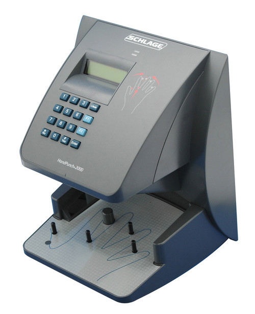 Amano Hand Punch 2000E Biometric Time Clock with Ethernet