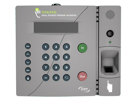 Total Pass Fingerprint and Face Picture taken by Biometric Icon time clock system.