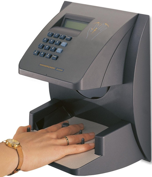 Time America HandPunch 3000 Biometric Time Clock
