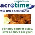 Acroprint AcroTime Platinum