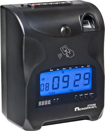 Acroprint ATR360 Biometric Time Clock