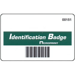 Acreprint TQ600-BC Barcode Badges