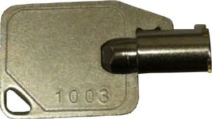 Hand Punch Clock Key 1003 for HP1000, HP2000, HP3000, HP4000 RSI or Schlage time clocks