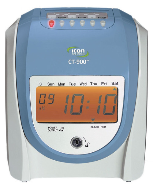 icon time ct 900 calculating time recorder 1 800 timeclocks