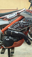 KTM Freeride 250 Carbon Fiber Exhaust Guard