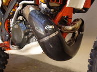 CEXG106 1-piece Carbon Fiber Exhaust Guard