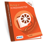 Student Books for Being a Screenwriter Part 1: Generating Ideas for a Screenplay.  Great for keeping students organized and provides a nice reference for future projects! Available in packs of 10.