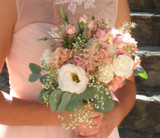 French Garden Wedding Bridesmaid Bouquet