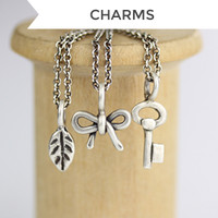 Sculpted Charms - Oxidized