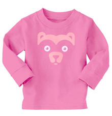 Long Sleeve Raspberry Bear Shirt