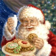 Santa's Cookies & Milk