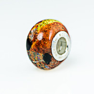 Carnival Lights Sparkle Murano Glass Charm Bead