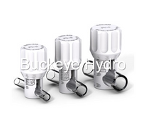 Buckeye Pinch Valves are available in three sizes and are intended for use with soft tubing.