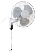 "Fan 16"" Wall mount/oscillating"