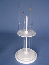 PIPETTE STAND, PLASTIC, CIRCULAR - 28 POSITIONS