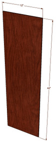 Brandywine Maple Wall End Panel 42 Inch