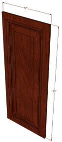 Brandywine Maple Decorative Door - 12 Inch Wide x 30 Inch High