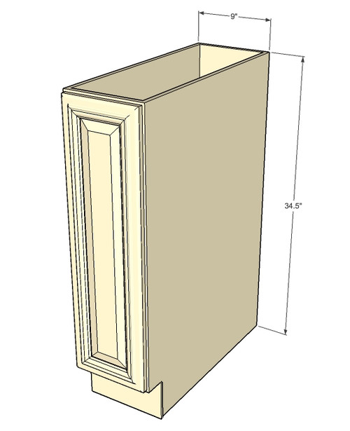 ... Base Cabinet With Single 9 Inch Door. Image 1