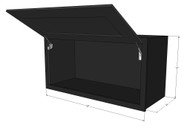 Island Java Shaker Horizontal Overhead Wall Cabinet - 30 Inch Wide x 12 Inch High