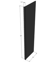 Island Java Shaker Fridge Panel - 96 Inch