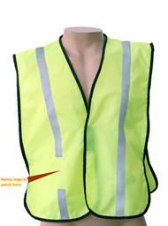 Non Ansi  Reflective  safety vest -Vestbadge / Customizable