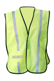 NON  ANSI Reflective  safety vest -Vestbadge -Security