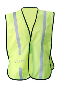 NON  ANSI Reflective  safety vest -Vestbadge - - Valet