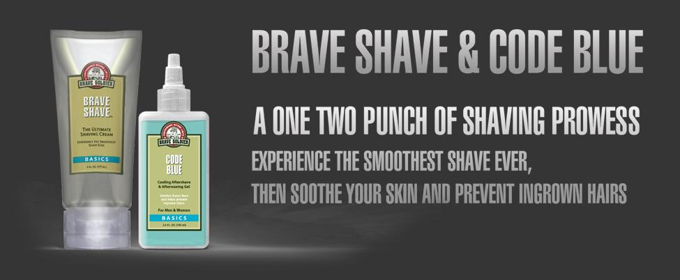 Brave Soldier - Brave Shave & Code Blue