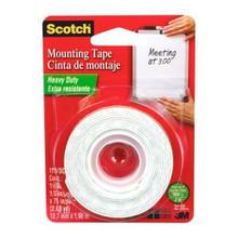 """Mounting Tape 1/2"""" White"""