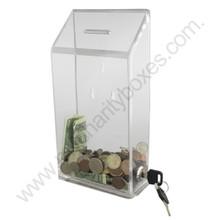 Clear Acrylic Donation Box