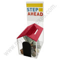 Doghouse Acrylic Donation Box - Red