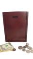 Wooden Locked Wall Donation Box - 01