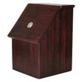 Locked Wood Donation and Ballot Box - 05