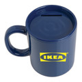 Coffee Mug Bank - Blue