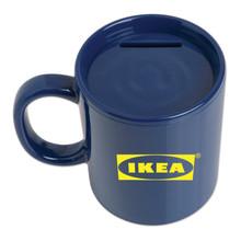 Coffee Mug Bank - Blue
