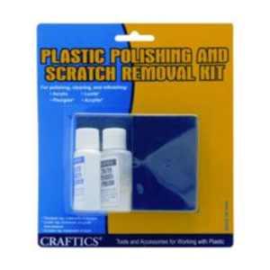Craftics Plastic Polishing & Scratch Removal kit