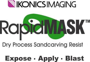 "Ikonics RapidMask HT 4mil 10"" x 12"" 25 Sheets"