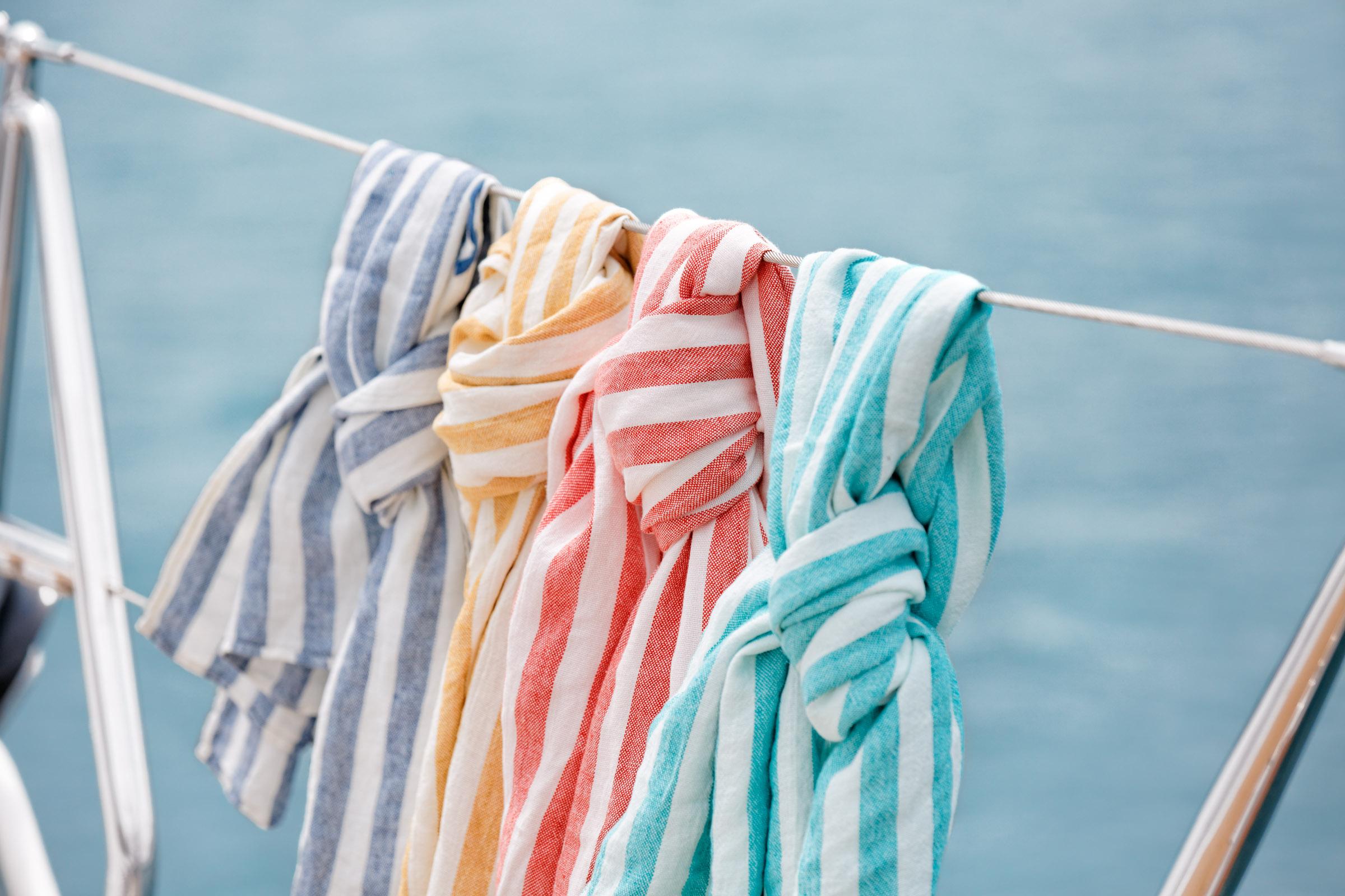 Laguna Linen Towels