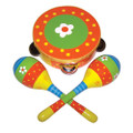 Daisy three piece percussion set by Sassafras