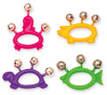animal shape jingle bells for kids