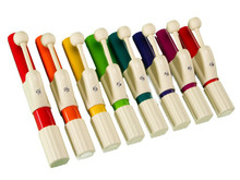 Handchimes  Set of Eight in Boomwhacker colors