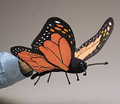 Monarch Butterfly Hand Puppet