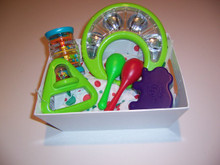 Baby safe set of musical instruments