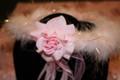 Marabou Rose Halo