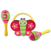 Flower/Butterfly Percussion Set