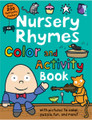 Nursery Rhymes color & activity book